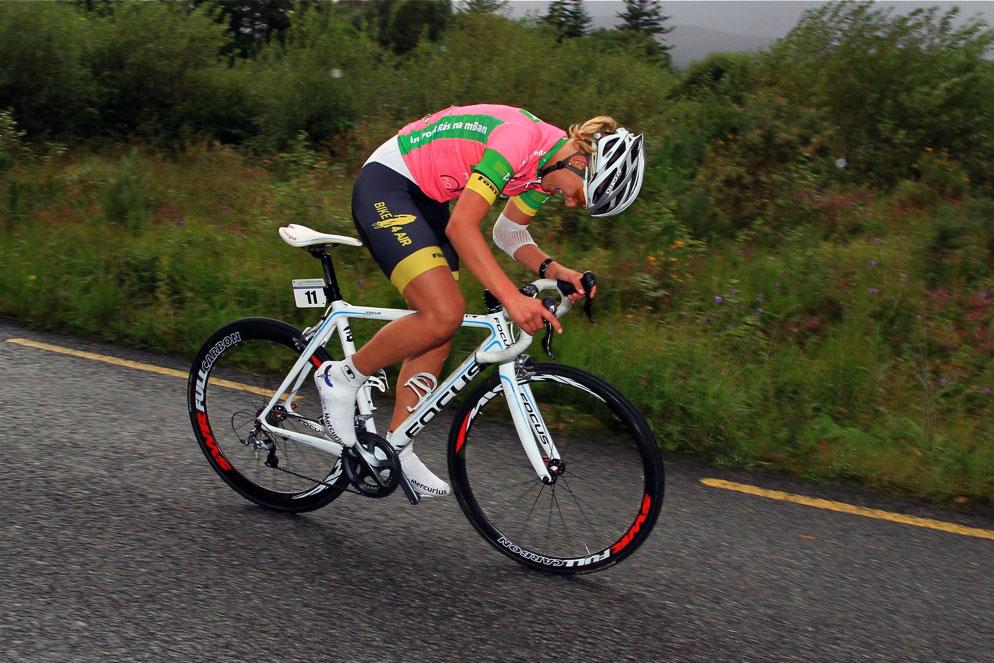2012 Rás na mBan Stage 2 - Femke van Kessel