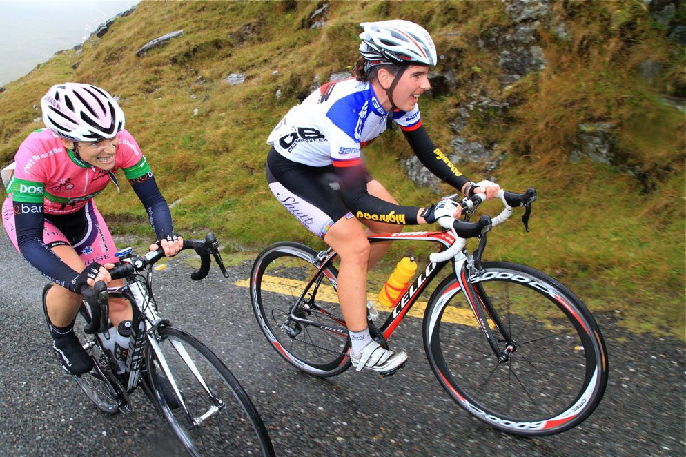 2012 Rás na mBan Stage 3 - Clare Dallat and Karen Poole