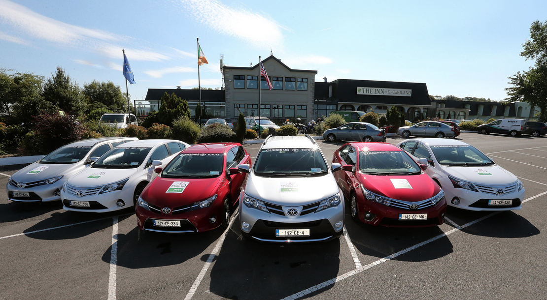 Cummins Toyota - Vehicle supplier for 2015 Rás na mBan