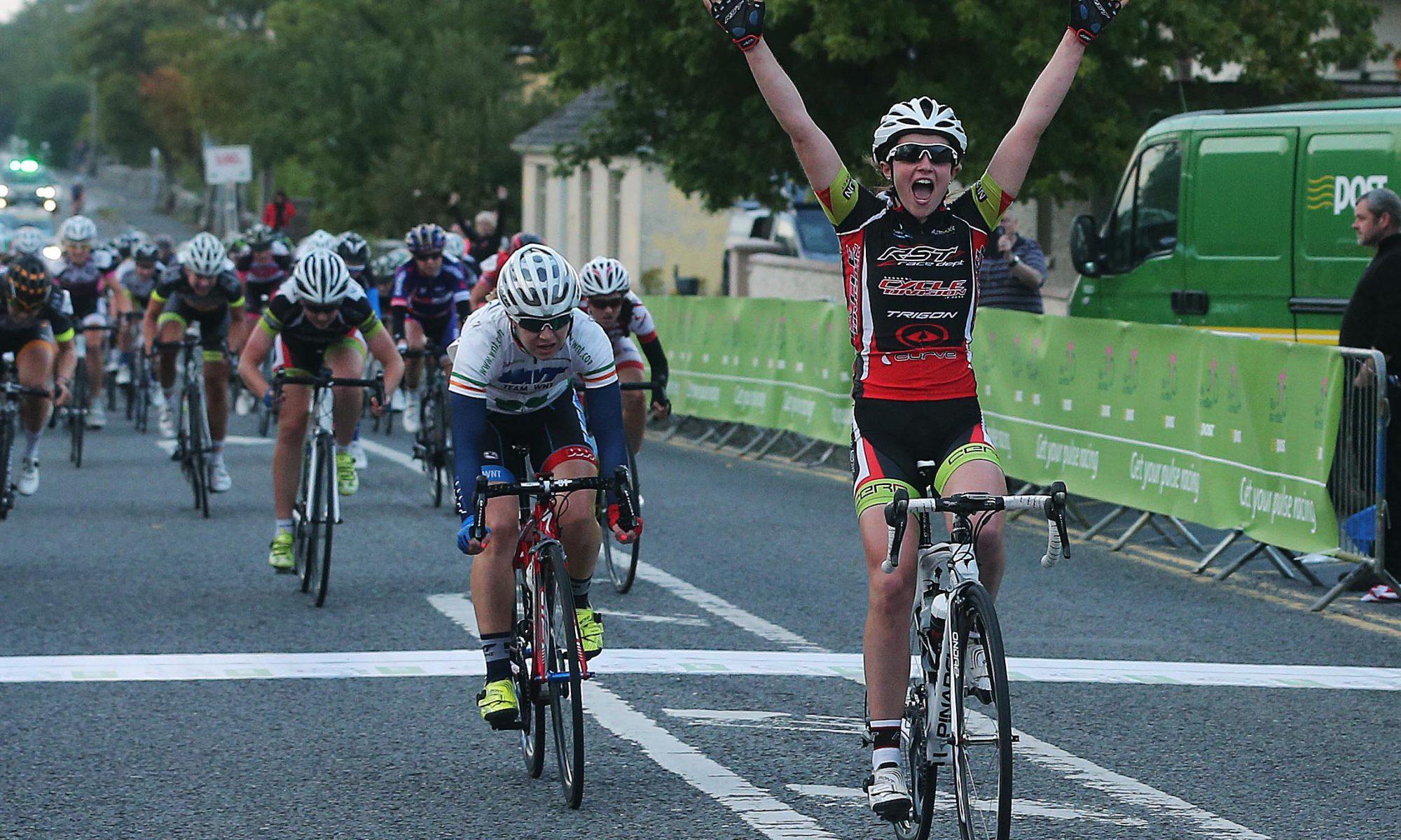 2015 Rás na mBan Stage 1 finish line