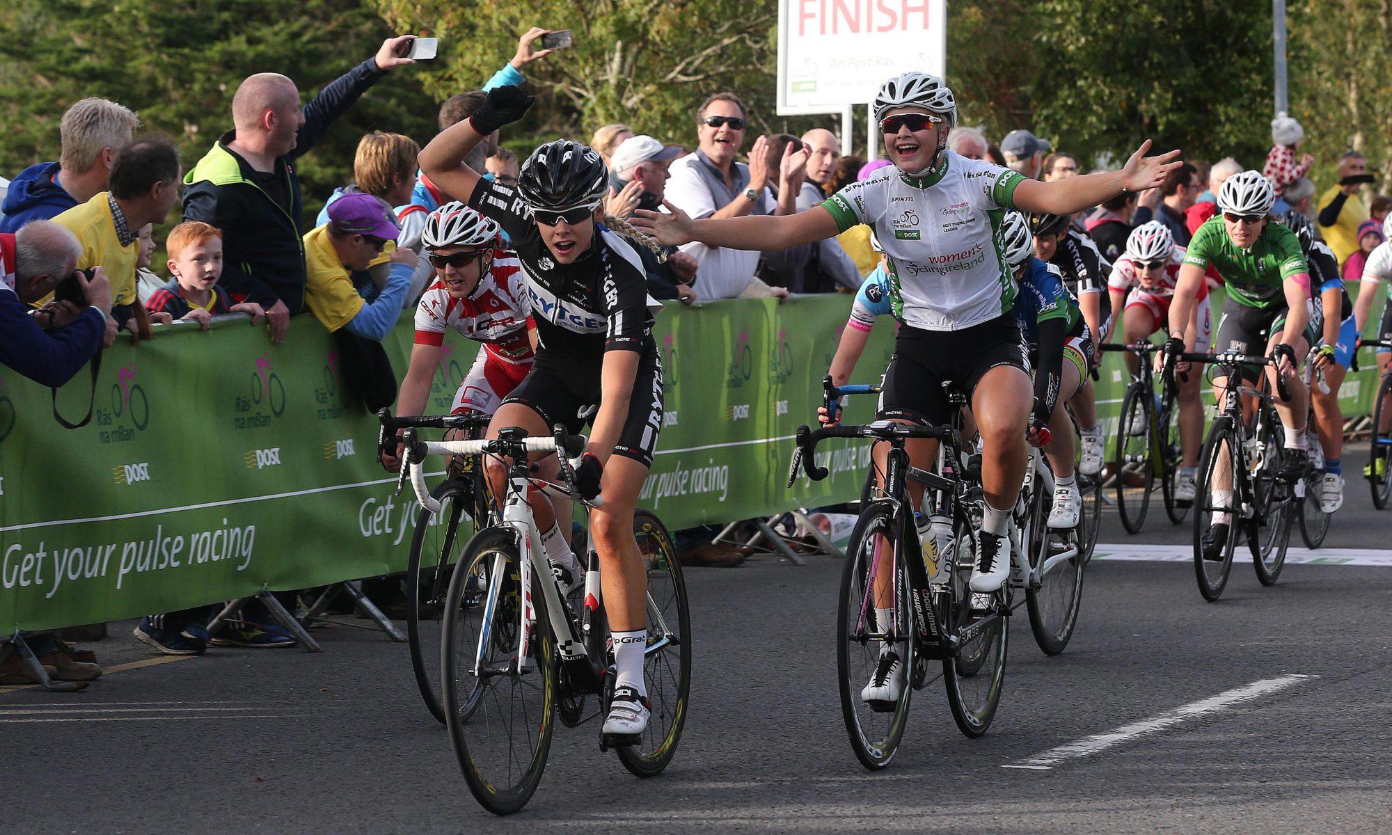 2015 Rás na mBan stage 5 finish