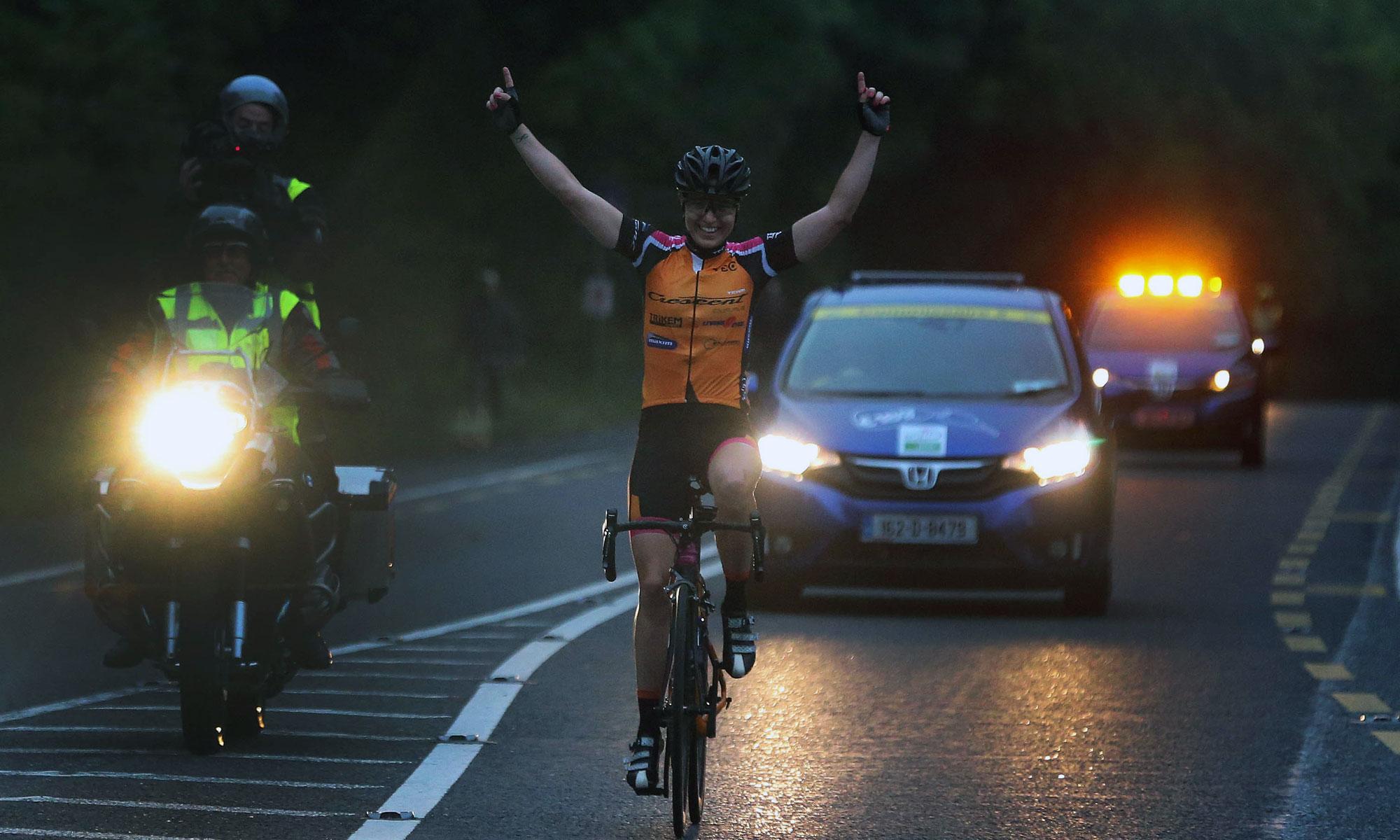 Rás na mBan Stage 1 - Rikki Lonne wins