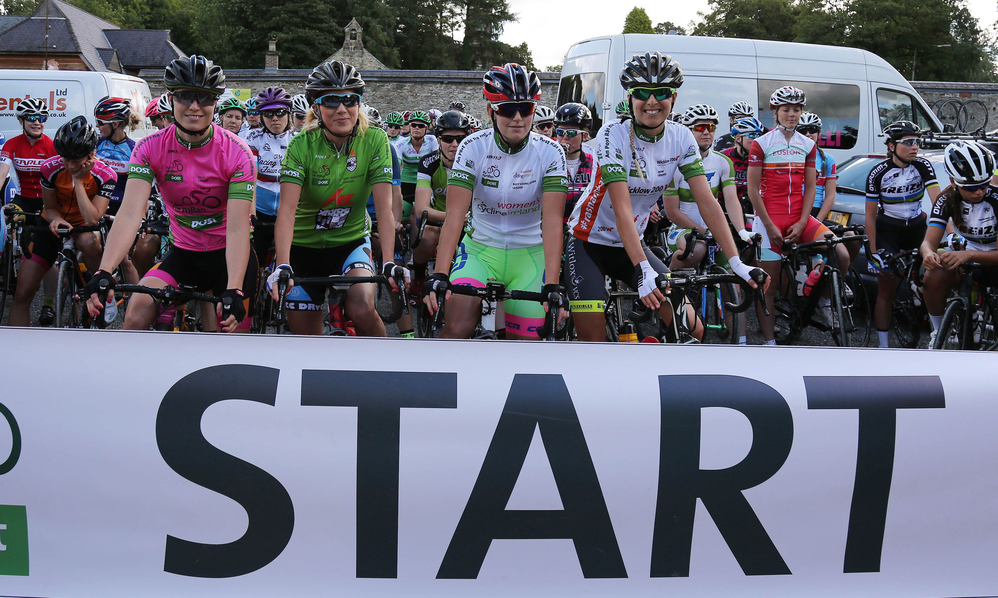 Rás na mBan 2016 - Stage 2 start