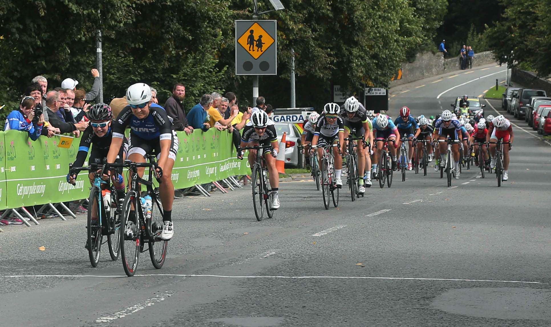 Melissa Van Neck wins Rás na mBan Stage 2