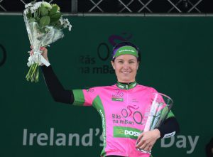 Rikke Lonne overall winner of the 2016 An Post Rás na mBan