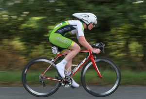Aideen Keenan of Orwell Wheelers during this morning's Time Trial