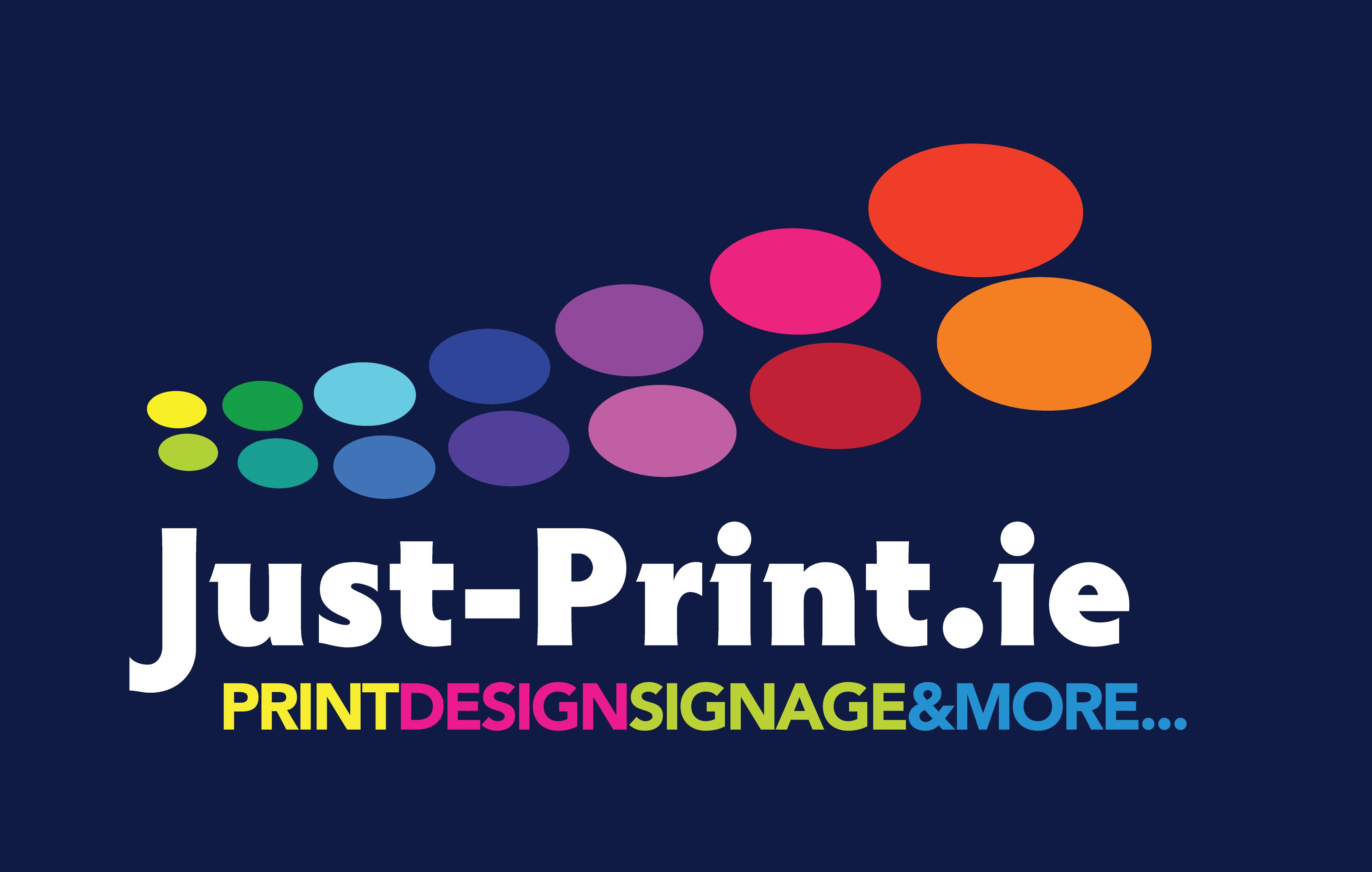 Just-Print logo